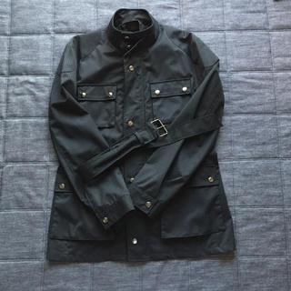 コムサメン(COMME CA MEN)のCOMME CA MEN ブラック コート(ステンカラーコート)