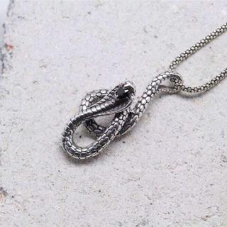 蛇 ペンダント925 (ネックレス)
