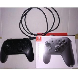 Nintendo Switch - ニンテンドースイッチ プロコントローラー 動作品 中古 プロコン