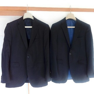スーツカンパニー(THE SUIT COMPANY)のPSFA濃紺無地スーツ2点 Y5体Y6体 スーツファクトリー(セットアップ)