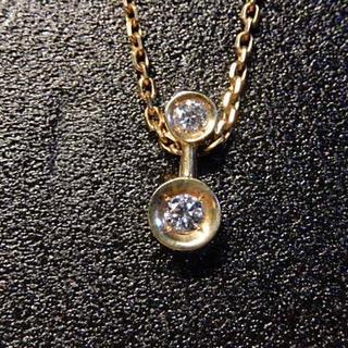 k18 ダイヤネックレス(ネックレス)