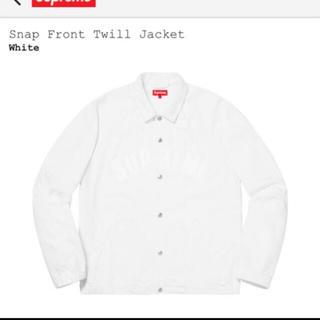 シュプリーム(Supreme)のSnap front twill jacket(その他)