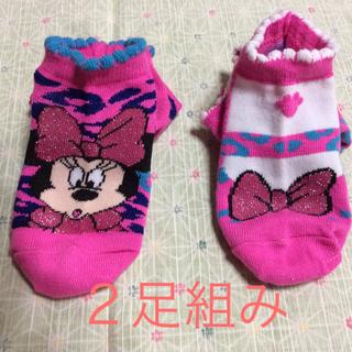 ディズニー(Disney)の新品 未使用  Disney 靴下 2足組(靴下/タイツ)