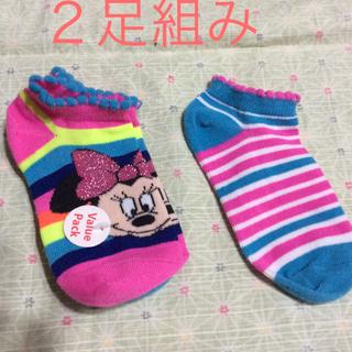 ディズニー(Disney)の新品 未使用  Disney. 靴下2足組(靴下/タイツ)