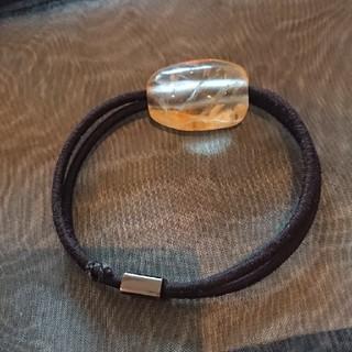 コレットマルーフ(colette malouf)のコレットマルーフ 天然石 シトリン ポニー(ヘアゴム/シュシュ)
