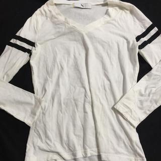 エヌナチュラルビューティーベーシック(N.Natural beauty basic)のN.デザインロングTシャツ(Tシャツ(長袖/七分))