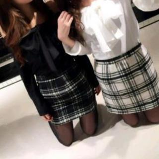 DaTuRa チェック柄スカート