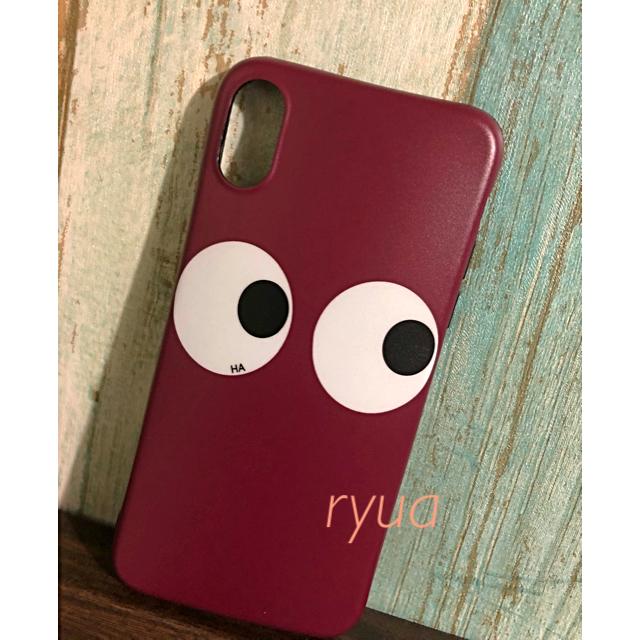 エルメス iphone7plus ケース 財布型 | ANYA HINDMARCH - iPhone x ケース カバー☆★アニヤハインドマーチ 目玉 /セレクト レアの通販 by E∞H|アニヤハインドマーチならラクマ