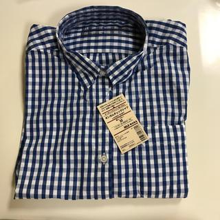 MUJI (無印良品) - 無印  婦人 オーガニックコットンシャツ  Mサイズ