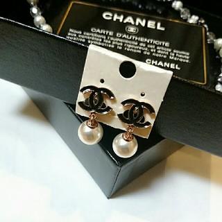 CHANEL - 新品 ♥只今値下げ交渉開始♥CHANEL ピアス ノベルティー 本日限定出品❗