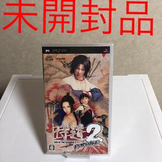 プレイステーションポータブル(PlayStation Portable)のpsp 侍道 2 未開封(携帯用ゲームソフト)