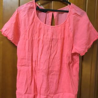 ザラ(ZARA)のZARA 赤シャツ(Tシャツ(半袖/袖なし))