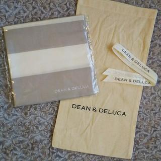 ディーンアンドデルーカ(DEAN & DELUCA)の新品!未開封!ディーン&デルーカ☆風呂敷グレーL(弁当用品)