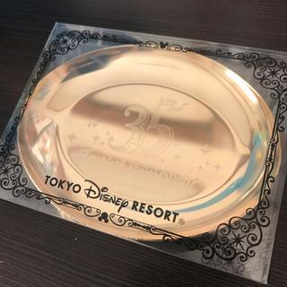 ディズニー(Disney)の新品 Disney ディズニー 35周年 グッズ ステンレス金メッキ 小物入れ(小物入れ)