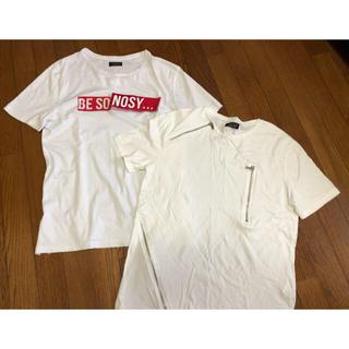 ザラ(ZARA)のTシャツ2枚セット ZARA(Tシャツ(半袖/袖なし))