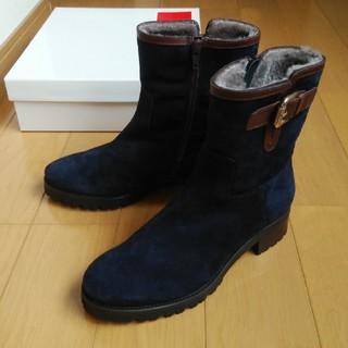 ギンザカネマツ(GINZA Kanematsu)の銀座かねまつ 未使用 ショートブーツ 35h 23.0cm(ブーツ)