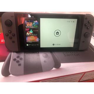 Nintendo Switch - 任天堂スイッチ グレー