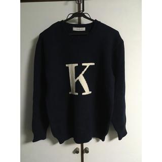 カネコイサオ(KANEKO ISAO)のKANEKO ISAO イニシャルニット(ニット/セーター)