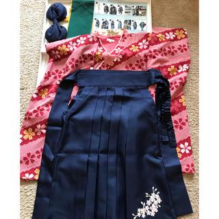 キャサリンコテージ(Catherine Cottage)のキャサリンコテージ 袴セット 130 卒園式(和服/着物)