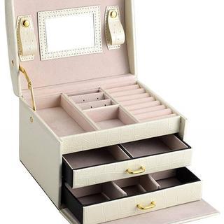 今だけ価格★ジュエリーボックス ミラー付き 宝石箱