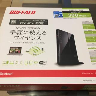 バッファロー(Buffalo)のBUFFALO WHR-300 無線LANルーター(PC周辺機器)