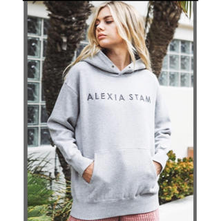 ALEXIA STAM - アリシアスタン  新作 パーカー スウェット