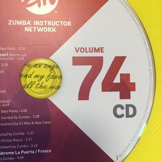 ズンバ(Zumba)のzin74 CD  ズンバCD(スポーツ/フィットネス)