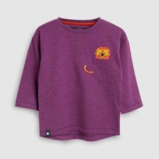 ネクスト(NEXT)の新品!ネクスト 長袖Tシャツ💜パープル タイガー(Tシャツ)