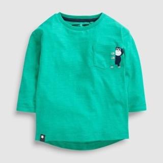 ネクスト(NEXT)の新品!ネクスト 長袖Tシャツ◇グリーン モンキー(Tシャツ)