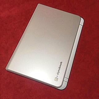 トウシバ(東芝)のdynabook  750GB  4GB Celeron office(ノートPC)