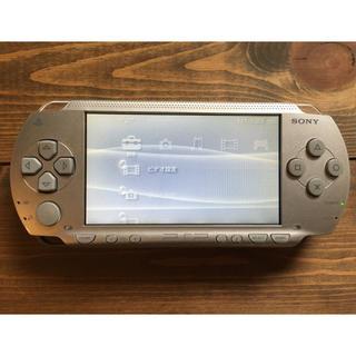 プレイステーションポータブル(PlayStation Portable)の【中古品】PSP-1000 シルバー(携帯用ゲーム本体)