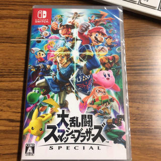 Nintendo Switch - 任天堂スイッチ 大乱闘スマッシュブラザーズ【新品】【未開封】