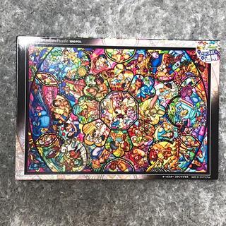 ディズニー(Disney)のディズニー ステンドアート 1000ピース ジグソーパズル オールスター(その他)
