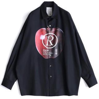"""シャリーフ(SHAREEF)の[新品]shareef """"APPLE R"""" BIG SHIRTS シャツ(Tシャツ/カットソー(七分/長袖))"""