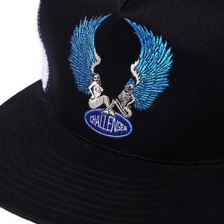 ネイバーフッド(NEIGHBORHOOD)のchallenger EMBROIDERED ANGELS MESH CAP(キャップ)