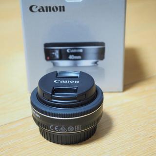 キヤノン(Canon)のCanon EF40mm F2.8 STM(レンズ(単焦点))