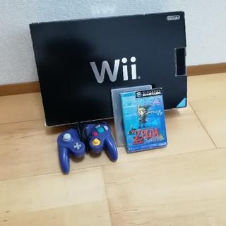 ウィー(Wii)のWii  セット(家庭用ゲーム本体)