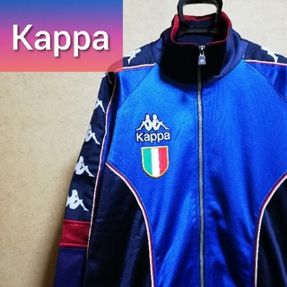 カッパ(Kappa)のKappa トラックジャケット ラインロゴ スクデットワッペン ジャージ(ジャージ)