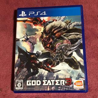 PlayStation4 - 美品✨ゴッドイーター3
