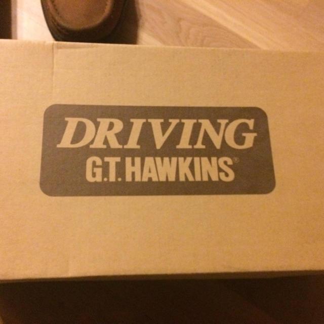 G.T. HAWKINS(ジーティーホーキンス)のDRIVING GT HAWKINS メンズの靴/シューズ(スリッポン/モカシン)の商品写真