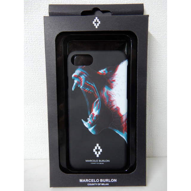 iphone7plus ケース 薄い | MARCELO BURLON - マルセロバーロン  iPhoneカバー 1点のみの通販 by ララ's shop|マルセロブロンならラクマ