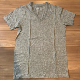 MUJI (無印良品) - 無印良品 Vネックシャツ