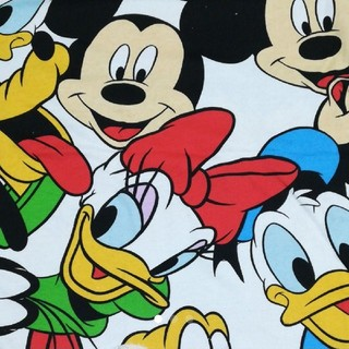 ディズニー(Disney)の4 ディズニー ミッキーフレンズ ニット生地(生地/糸)