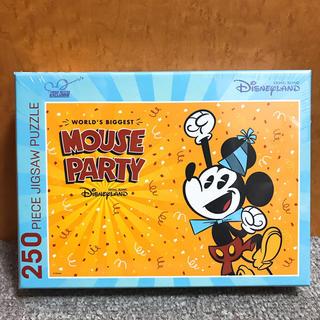 ディズニー(Disney)の非売品★香港ディズニー ミッキー生誕90周年記念 ジグソーパズル 250ピース(その他)
