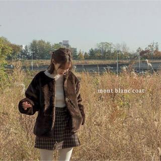 オオトロ(OHOTORO)のohotro mont blanc coat(毛皮/ファーコート)