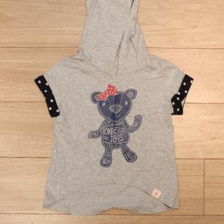 オシュコシュ(OshKosh)のOSHKOSH フード付き Tシャツ  80~90cm(Tシャツ)