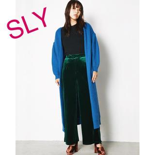 スライ(SLY)の【新品】SLY VELOUR CROSS MULE SANDALS Mサイズ(サンダル)