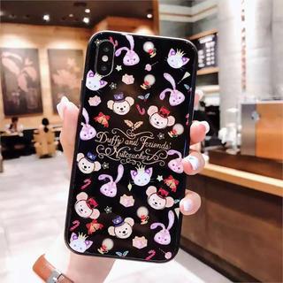 ディズニー(Disney)のディズニー ダッフィーフレンズ   iPhoneX(iPhoneケース)