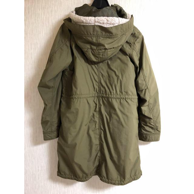 UNIQLO(ユニクロ)のモッズコート ボア付き レディースのジャケット/アウター(モッズコート)の商品写真