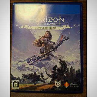PlayStation4 - ホライゾンゼロドーン コンプリートエディション PS4 美品